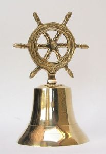Ship Wheel Table Bell