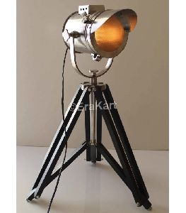 Vintage Cap Style Nautical Spotlight Antique Floor Lamp