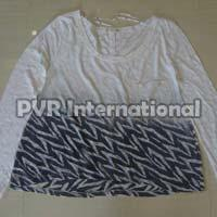 Ladies Knitted Round Neck T-Shirts