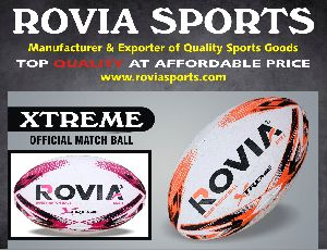 custom rugby union balls