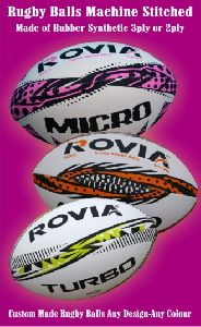 Rugby balls Promotional balls with hand stitched as well as machine stitched