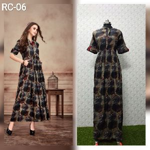 Flair Long Kurtis 02