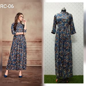Flair Long Kurtis 03