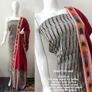 Ikkat Cotton Suits 01