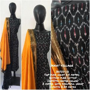 Ikkat Cotton Suits 03