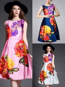 Ladies Western Wear Dress