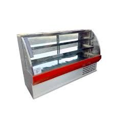 Curved Glass Sweet Display Counter