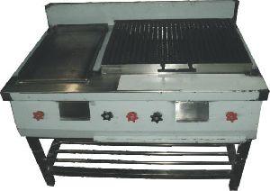 Griller Cum Hot Plate