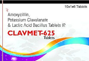 Clavmet-625 Tablet
