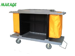 Hotel Cleaning Service Cart