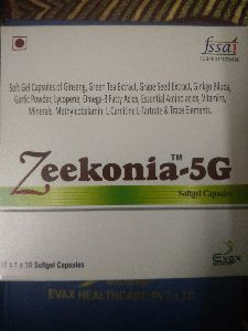 Zeekonia 5G Softgel Capsules