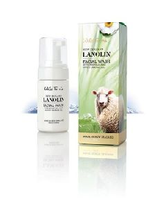 LANOLIN FACIAL WASH WITH PROPOLIS AND SWEET ORANGE
