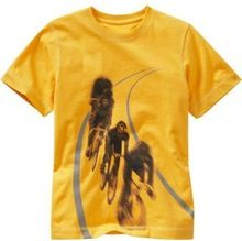 Graphic yellow t-shirt for Boys