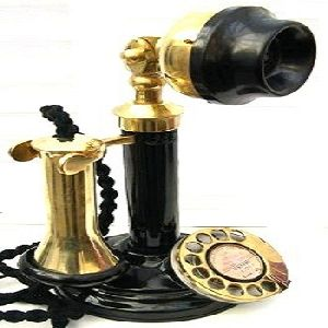Nautical Brass collectible candlestick telephones