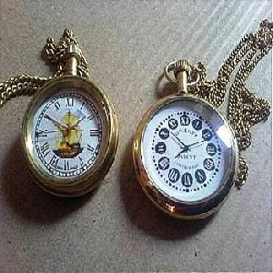Nautical brass collectible pocket chain watch