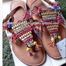 indian genuine leather Woman sandal
