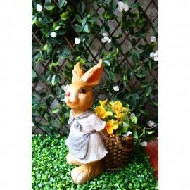 Rabbit / Bunny Planter with Pot