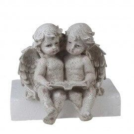 Two Angels / cherubs table top (Home Decor, Gifting , gift)