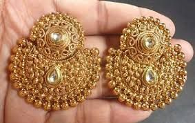 Antique Golden Earrings