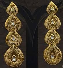 Antique Long Earrings