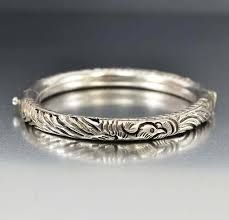 Antique Silver Bangles