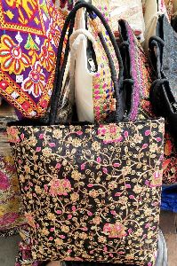 Multicolor Handicraft Embroidered Handbag