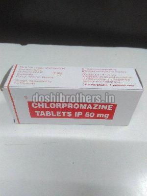 Chlorpromazine 50mg Tablets