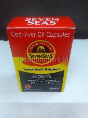Seven Seas Cod Liver Oil Capsules