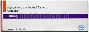 Mycophenolate Mofetil Tablets 500mg