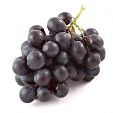Fresh Natural Black Grapes