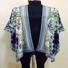 resort wear cape kimono jacket
