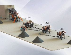 Symons Cone Crusher Gravel Production Line