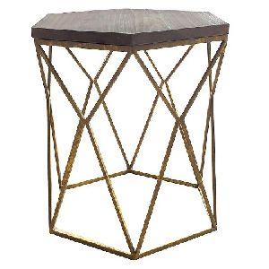 Metal Side Table 01