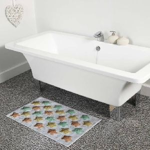 Cotton Star Design Bath Mat 01