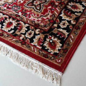 Red Traditional Floral Collection Carpet 04
