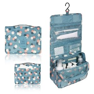 Floral Cosmatic Organizer- Multipocket