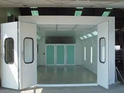 Spray Paint Booth Curtain Wall Enclosure Systems