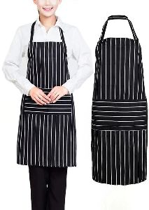 Black Cooking Apron