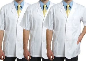 White Cotton Doctor Coat