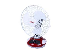 Rechargeable Fan with Mobile Charger LED Lamp