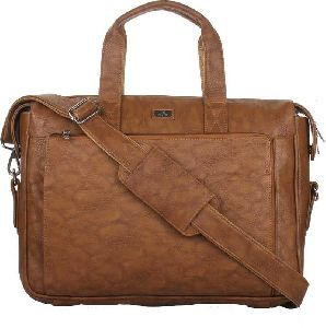 Camel Leather Messenger Bags