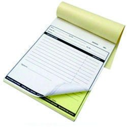 Challan Receipt Book Printing Services