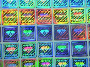 Colorful Hologram Stickers