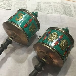 Tibetan Hand Prayer Wheels