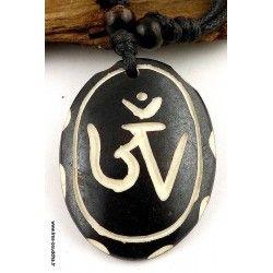 Religious Bone Pendant