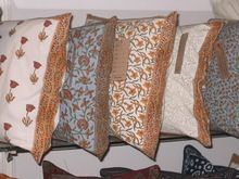 JAIPUR FAMOUS INDIAN HAND BLOCK PRINTED CUSHION COVER