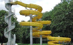 Round Water Slide