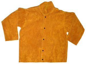 High Quality Leather Welding Jacket / Cow Split Leather Welding Jacket / Welder\'s Safety Jacket