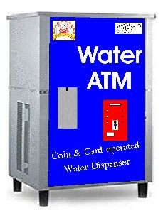 Coin and Card Operated Water ATM Machine