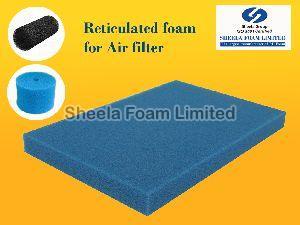 Air Filter Reticulated Foam Sheet 02